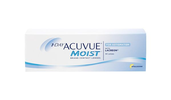 1-DAY ACUVUE MOIST FOR ASTIGM.