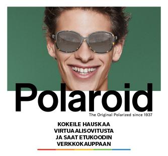 Kokeile Polaroid-aurinkolaseja