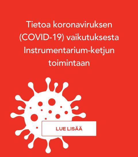 Tietoa koronaviruksen (COVID-19) vaikutuksesta Instrumentarium-ketjun toimintaan