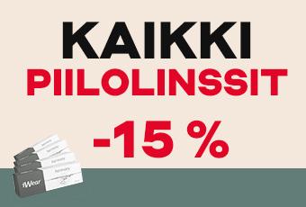 Kaikki piilolinssit -15 %
