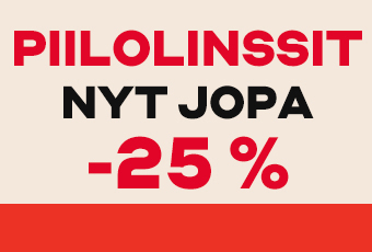 Piilolinssejä jopa -25 %