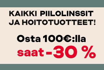 osta 100€ , saat -30 %