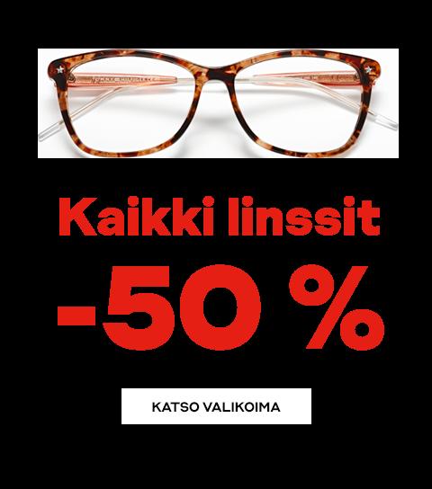 Kaikki linssit -50 %