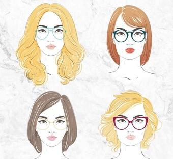 Tunnetko kasvotyyppisi? Opi omat piirteesi ja löydä juuri sinulle sopivat kehykset!