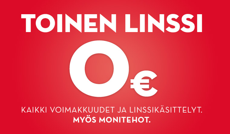Toinen linssi 0€