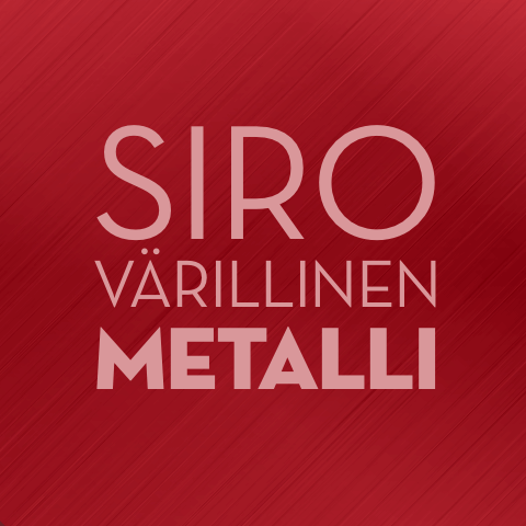 Siro värillinen metalli